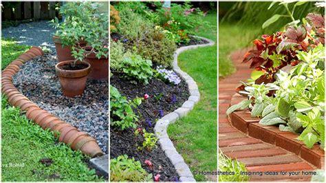 and easy garden ideas 17 simple and cheap garden edging ideas for your garden
