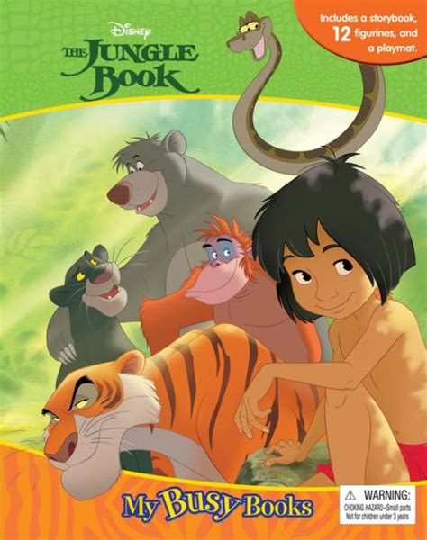 Busy Book N Friends disney jungle book my busy book by phidal hardcover