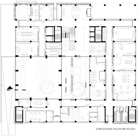 technical floor plan gallery of tobb et 252 technology center a architectural