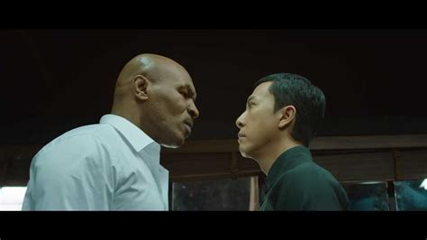 film full movie ip man 3 donnie yen and mike tyson size each other up in ip man 3