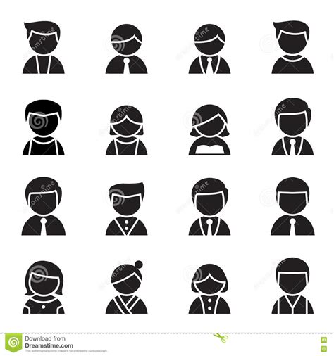 graphic design icons stock vector image of icon design silhouette user man woman icon set vector stock