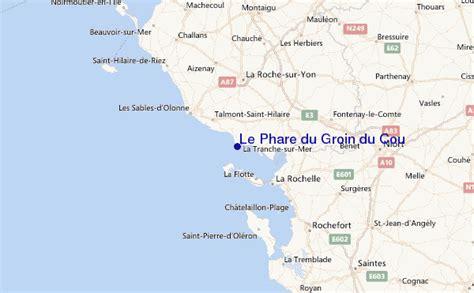 Le Phare du Groin du Cou Prévisions de Surf et Surf Report (Vendee, France)