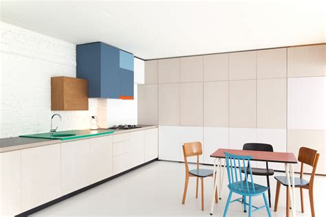 belgian design colorful kitchen by belgian designer dries otten your no 1 source of architecture and interior