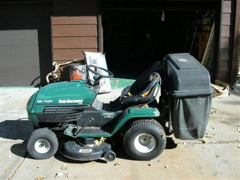 mtd riding lawn mower rear bagger mtd riding mower bagger for sale