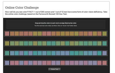 x rite color challenge colorblindness test europtics