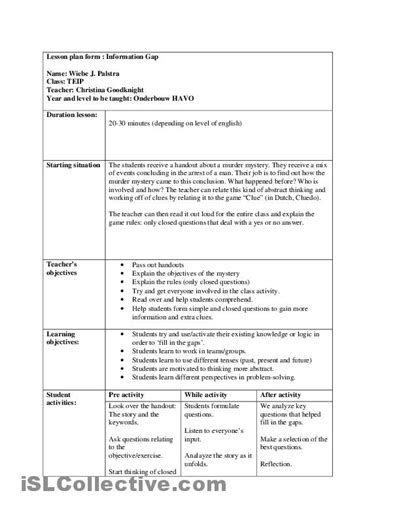 close reading planning template related keywords