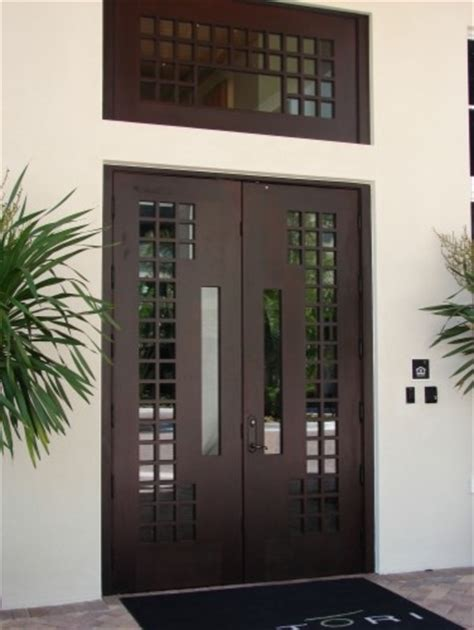 Miami Doors by Modern European Style Entry Doors By Deco Design Center Front