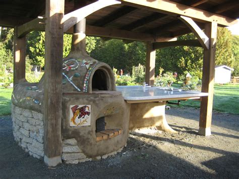 Kitchen Peninsula Ideas check out our new cob oven and the entire kitchen in