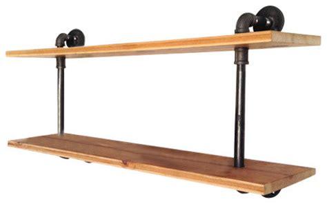 reclaimed wood wall shelves waldorf reclaimed wood wall shelf industrial display