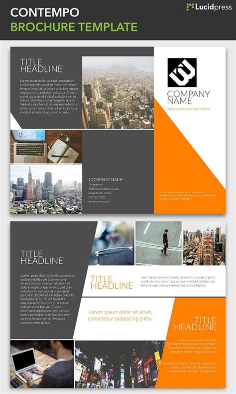 creative brochure templates free 23 best free brochure templates images on free