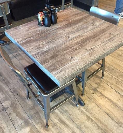 rustic wood restaurant tables laminate rustic restaurant tabletops in stock