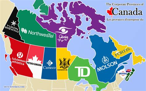 map of provinces of canada the corporate provinces of canada steve