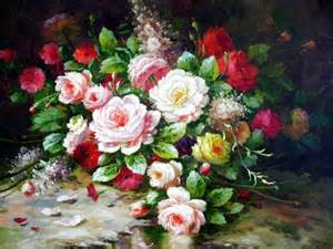 paintings of flowers oil paintings of flowers flowers oil painting flower oil paintings painting flowers with oil paint