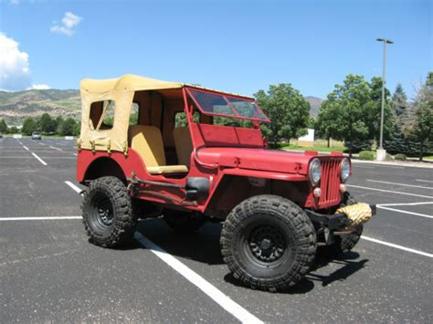 1947 willys jeep parts 1947 willys cj2a jeep classic willys 1947 for sale