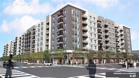 oakland housing section 8 two large oakland housing projects win approval after more