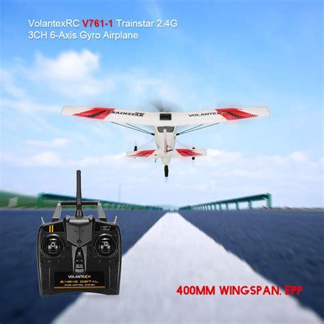 Pesawat Drone Mini volantex rc v761 1 pesawat terbang rc siap jadi pilot blackxperience
