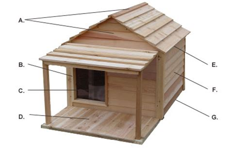 wooden dog house kit dog house assembly