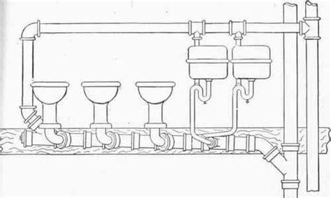 Plumbing Loop Vent by Chapter Xix Plumbing For Schools Hotels Factories