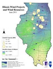 wind farm map databases center for renewable energy illinois state