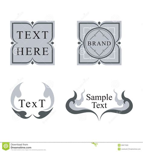 design logo label thai logo design stock vector image of quality icon