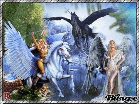 imagenes de hadas unicornios y pegasos angeles y pegasos fotograf 237 a 116029603 blingee com