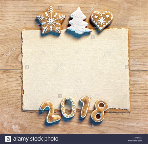 new year cookies 2018 letter with gingerbread cookies 2018 merry