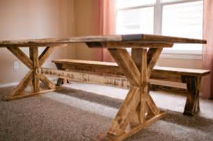 Dining Tables And Benches Rustic Dining Tables With Benches Roselawnlutheran