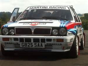 Lancia Delta Integrale Rally Dual Purpose Road 1990 Lancia Delta Integrale Rally