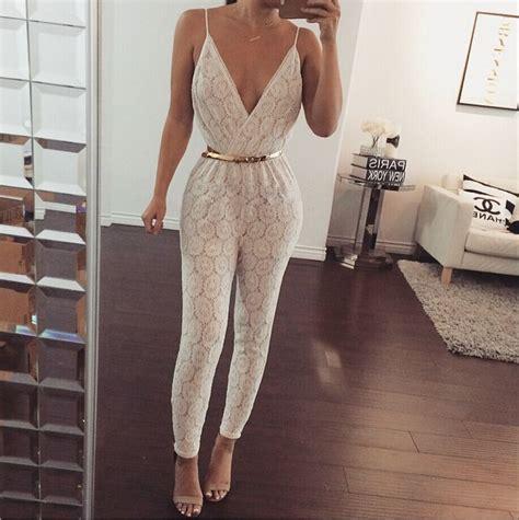 Jumpsuit Cut Layla white lace rompers womens jumpsuit 2015 new fashion
