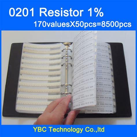0201 smd resistor kit free shipping 0201 smd ᗚ resistor resistor 1 16w sle book 1 ᗐ tolerance tolerance