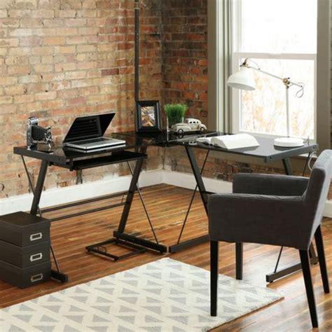 bureau bois fonc un bureau informatique d angle quel bureau choisir pour