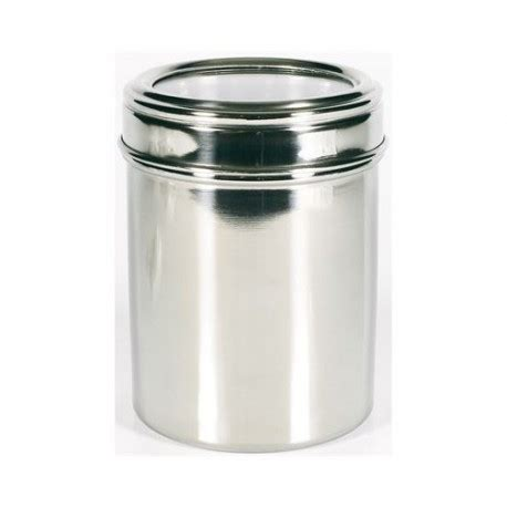 Mug Enamel Putih Pinggiran Stainless 12 Cm 12cm stainless steel canister
