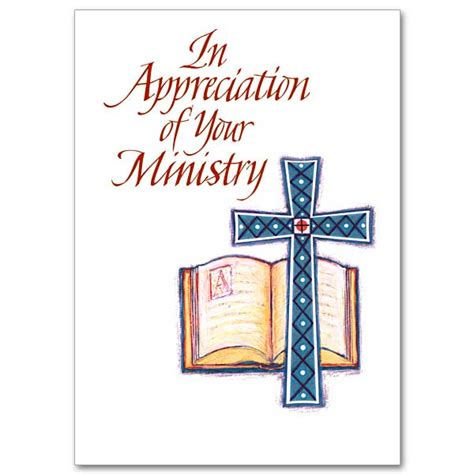 free printable ordination anniversary cards in appreciation of your ministry ministry appreciation card