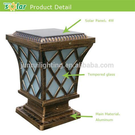 high lumen solar post lights selling antique ls led solar gate