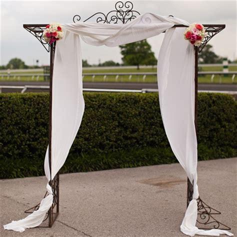 Wedding Arch Fabric by Fabric Draped Wedding Arch
