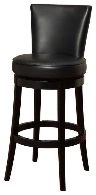 bar stools boston boston swivel bar stool black bicast leather