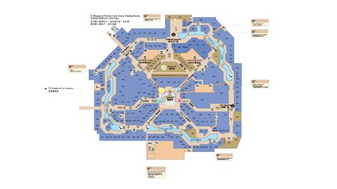 Globe Theatre Floor Plan shoppes at venetian sands retail