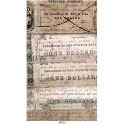 State Of Indiana Tax Warrant Search Lot Of 5 State Of Treasury Warrants From 1862 3 In