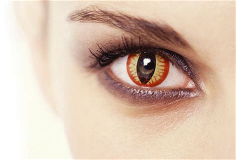 Decorative Contact Lenses by The Dangers Of Decorative Contact Lenses