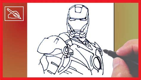 imagenes de los vengadores para dibujar a lapiz c 243 mo dibujar a iron man how to draw iron man marvel