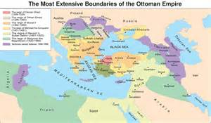 The most extensive boundaries of the ottoman empire from 1299 to 1699
