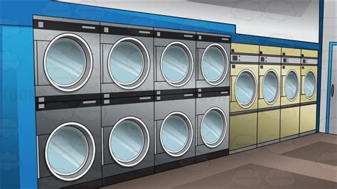 Laundromat Clipart inside a laundromat background clipart by vector