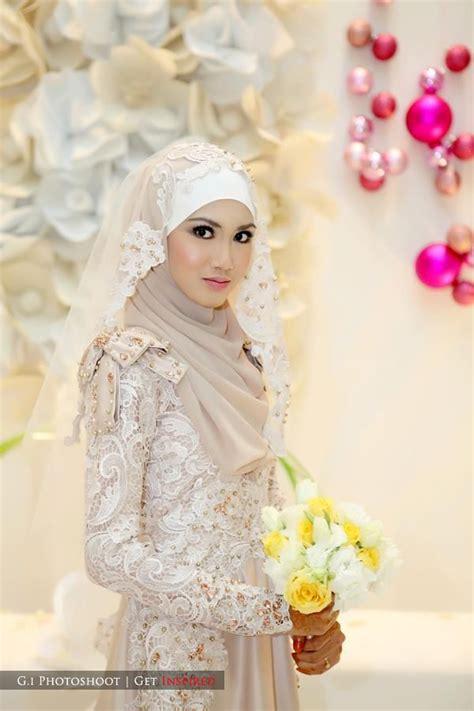 tutorial hijab pengantin 2015 kreasi hijab modern hairstylegalleries com