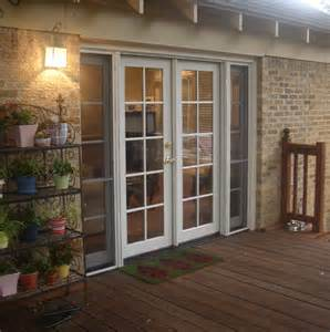 Photos of French Doors Exterior Screens