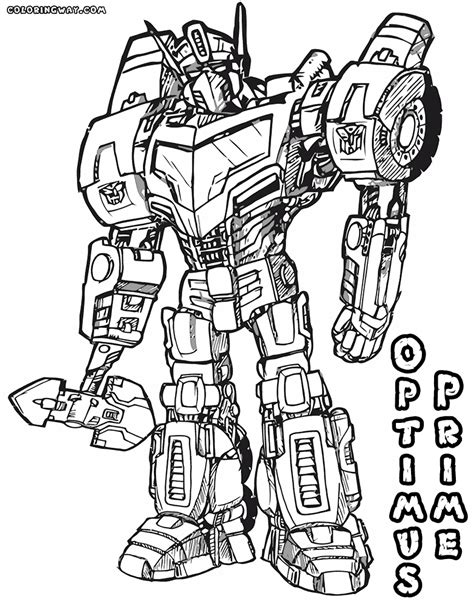optimus prime coloring pages coloring pages to download