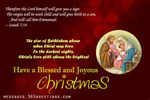 Christian christmas card messages easyday