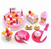 Discount Toys Girls Child Pretend Play Birthday Cake Dessert Toy Model
