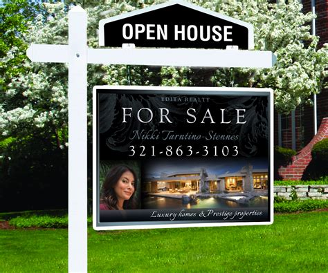 where to buy house for sale signs modern upmarket signage design for edita realty by