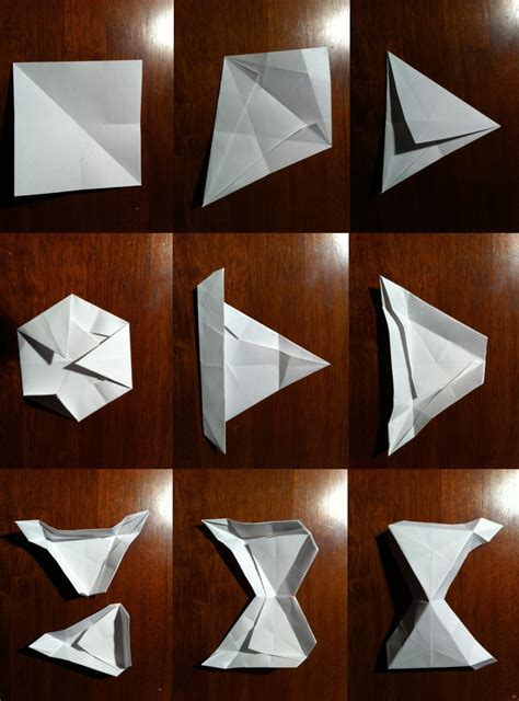 How To Make A Paper Soccer Easy - setting the crease surface to structural procrastigami