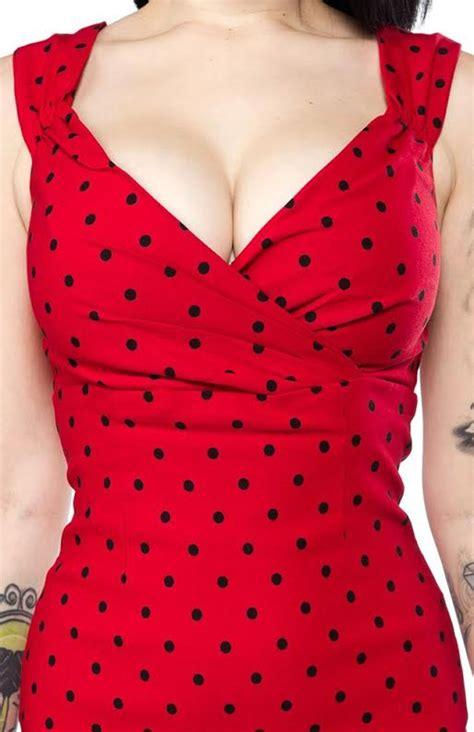 Sale Dress Polka By Gudangonline75 polka dot wiggle dress by steady clothing in sale